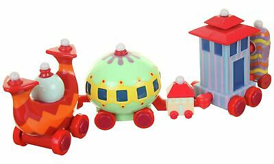 In The Night Garden Ninky Nonk Train Toy Set 5 Colourful Cars 18+ Months