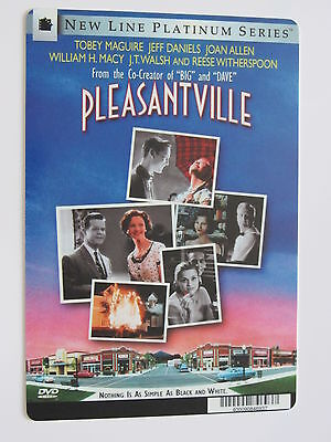 PLEASANTVILLE promo backer art card TOBEY MAGUIRE, REESE WITHERSPOON