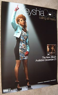 Keyshia Cole poster - promotional poster  - Calling All Hearts