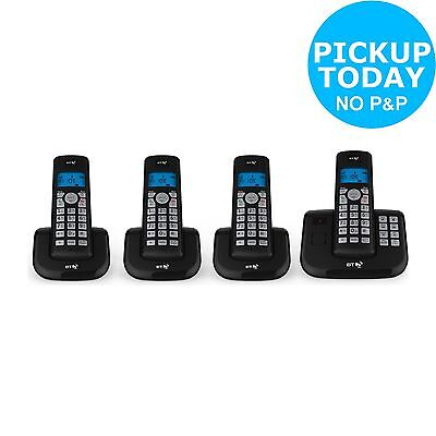 BT 3560 Cordless Telephone with Answer Machine - Quad