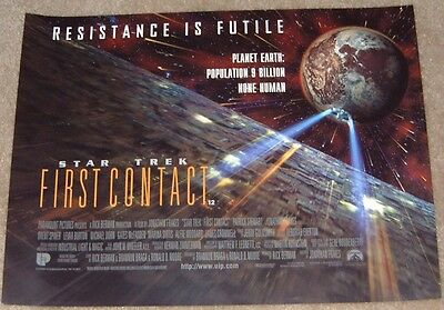 Star Trek movie poster  - 12 x 16 inches - Star Trek First Contact poster