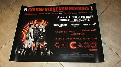Chicago movie poster Catherine Zeta Jones poster Richard Gere poster