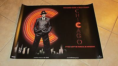 Chicago movie poster - Richard Gere poster - 30 x 40 inches