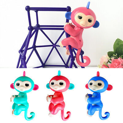 Hot Colorful Children Finger Monkey Puzzle Toy Doll Intelligent Xmas Gifts