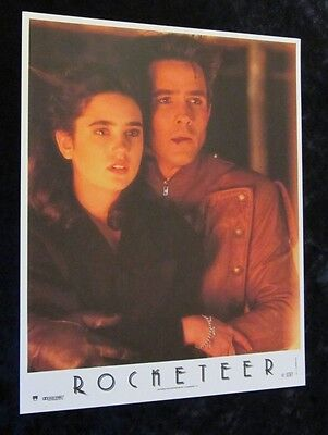 The Rocketeer Original Lobby Card # 3 -  Bill Campbell, Jennifer Connelly