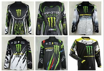 Motocross Jersey MONSTER 6 Styles Extreme Sports Off Road Clothing Quick Dry