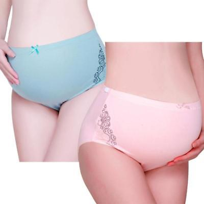 Pure Color Pregnancy Maternity Pregnant Women Breathable Underwear Panties