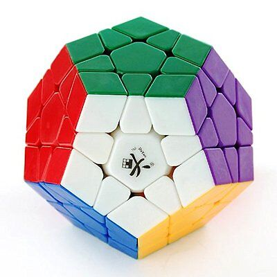Dayan Megaminx I In Traditional Shape 12 Solid Color Body Speed Magic Cube Gift