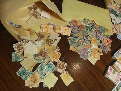 100000's British Empire Colonial Stamps MIX OLD COLONY WORLDWIDE DIFFERENT RARE!
