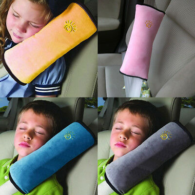 Car Safety Seat Belt Cover Cushion Shoulder Sleep Pillow Dampen Kids Harness
