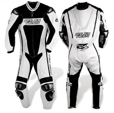 Arlen Ness Racing - One-piece Leather Suit Size 48 US (58 EU)