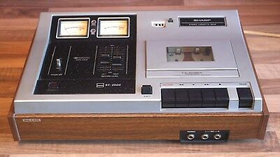 Sharp RT-2000 Stereo Cassette Deck