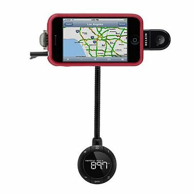 Belkin TuneBase FM Transmitter Wireless HandsFree Car Kit for iPod iPhone 3 4 4S