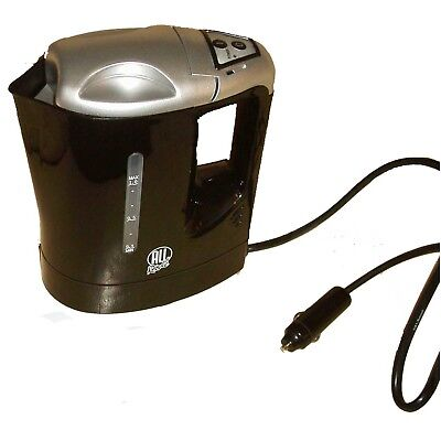 24V Electric Kettle Water Car Van Lorry Travel Portable Camping Jug 1 Litre Hot