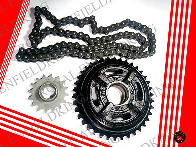 Brand New Genuine Royal Enfield Chain Sprocket Kit 16T 112146 Best Quality