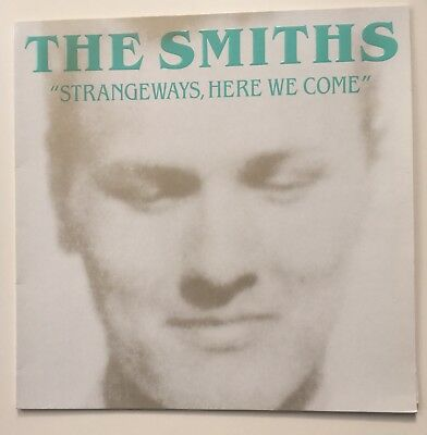 The Smiths 'Strangeways Here We Come' Embossed Green Title RTD 60 Charcoal Black
