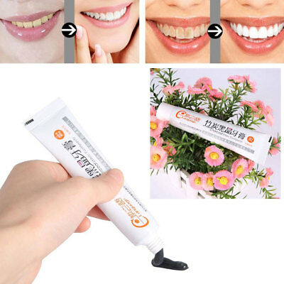 Black Charcoal Clean Health Care Toothpaste Teeth Whitening Oral Bamboo Useful