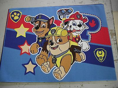 Paw Patrol Rug Kids Bedroom Rug 95X133Cm Large Brightly Coloured Non Slip Rug