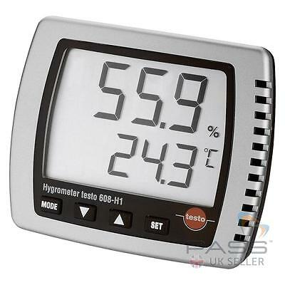 NEW Testo 608-H1 Temperature & Humidity Monitor / UK Seller and Stock