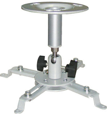 Support Videoprojecteur Universel Fixation Plafond Reglable Inclinable 360° 10Kg