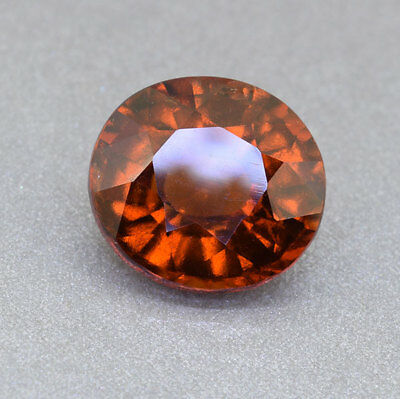 "UNTREATED - HESSONITE GARNET from Sri Lanka ""Ceylon"" 4.21 Ct.  (00798)"