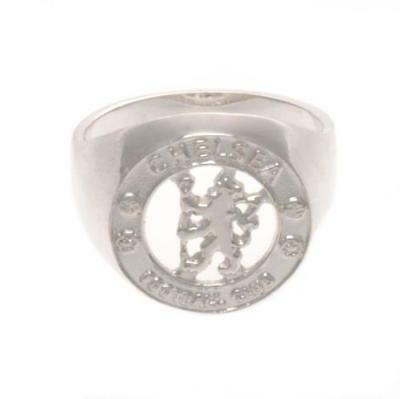 Official Football Chelsea F.C. Sterling Silver Ring Small Xmas Gift