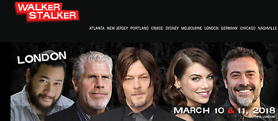 Walker Stalker Con London 10th-11th March 2018 Weekend General Admission Ticket
