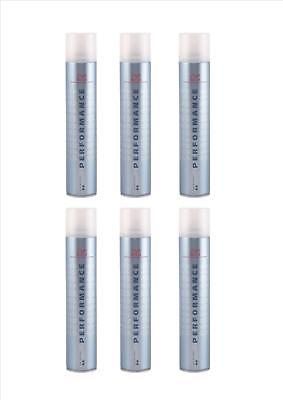6x Wella Performance Extra Strong Hairspray Haarspray 500 ml