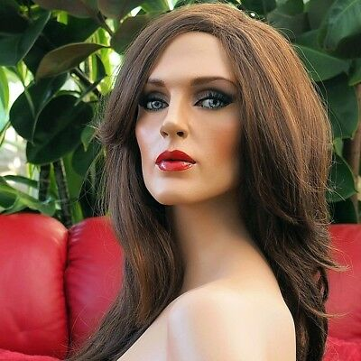 DIANNE One-of-a-kind Lifelike Sexy Beautiful Rootstein Mannequin with Glass Eyes