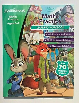 Disney Pixar Inside Out Handwriting Practice Learning Workbook Ages 6-7 Yrs New