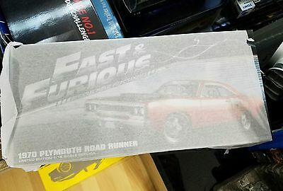GMP 18807 1970 Plymouth Road Runner Furious 7 Movie 2015 1:18 Scale Diecast NIB