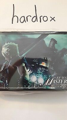 Final Fantasy Sleeves Hüllen FF-TCG Masters Cloud vs. Sephiroth only from Japan!