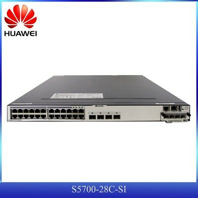 router switch corporativo mainframe Huawei S5700-28C-SI gigabit VRP