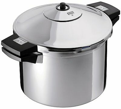 Kuhn Rikon Duromatic Inox Stainless Steel Pressure Cooker with Side Grips, 4 Lit