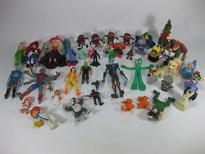 Plastic Toy Figures Lot