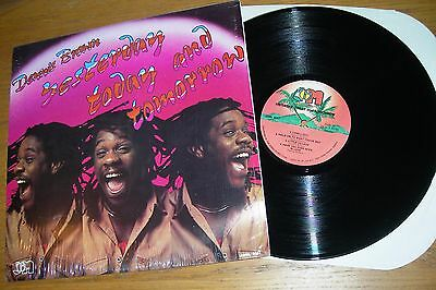 Dennis Brown ‎– Yesterday Today And Tomorrow Lp