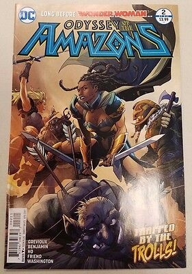 Odyssey of the Amazons #2 Wonder Woman VF-NM