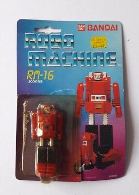 Robo Machine Rm-16 Scooter Toy With Packaging Backing Card