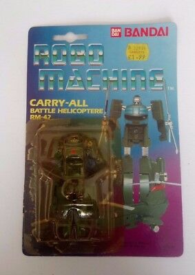 Robo Machine Battle Hilicoptere Rm-42 Toy Bandai Vintage Original Packaging