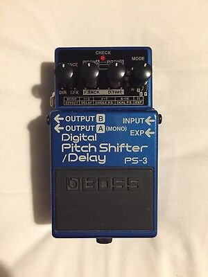 Boss PS-3 Digital Pitch Shifter / Delay Guitar Effects Pedal PS3