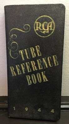 Rare - 1944 Rca Tube Reference Book