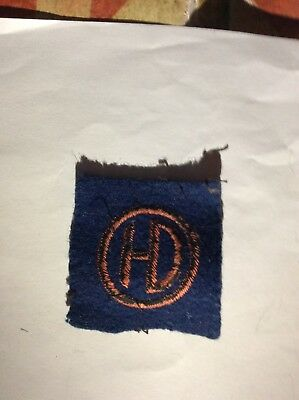 WW2 Highland Division formation cloth patch
