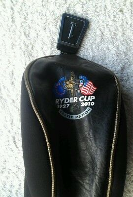 Ryder cup 2010 Celtic Manor half leatherette club headcover