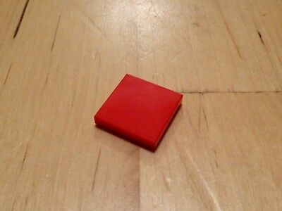 Lego 3068 - 2x2 Red smooth flat tile - NEW - pack of 20 - city/movie/star wars