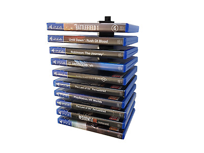 Floating PS4 Game / Blu Ray Modular Wall Mount / Holder / Rack