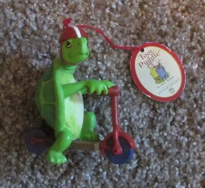 Turtle ~ Toot Puddle ~ Dept. 56 & Holly Hobbie ©2001