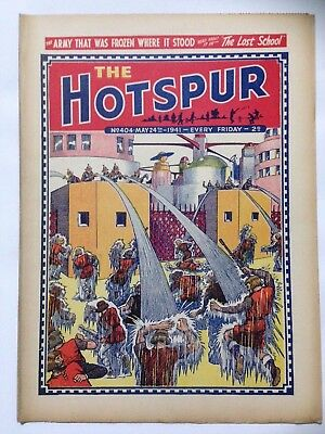 DC Thompson. THE HOTSPUR Wartime Comic. May 24th 1941 Issue 404.