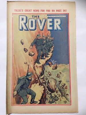 DC Thompson. THE ROVER Wartime Comic. March 8th 1941 Issue 986 *FREE UK POSTAGE*