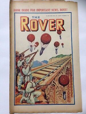 DC Thompson. THE ROVER Wartime Comic March 29th 1941 Issue 989 *FREE UK POSTAGE*