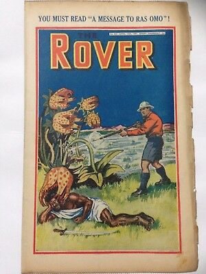 DC Thompson. THE ROVER Wartime Comic April 12th 1941 Issue 991 *FREE UK POSTAGE*